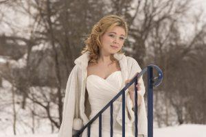 a winter wedding shoot at the perth legion wedding